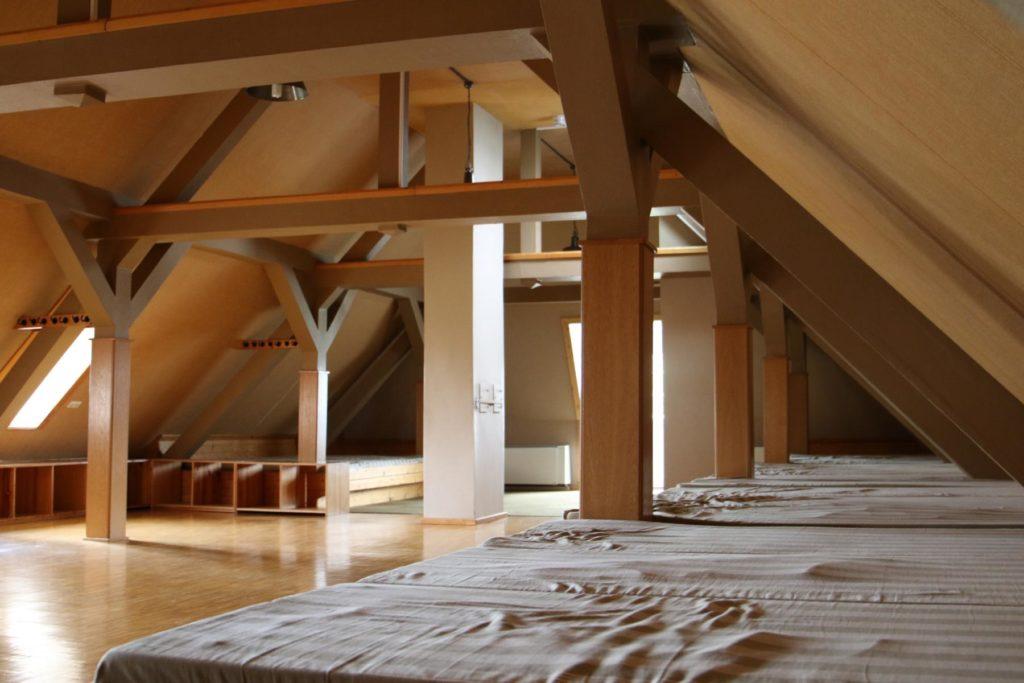 Matratzenlager Dach