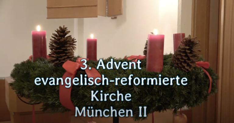 Videogottesdienst zum 3. Advent