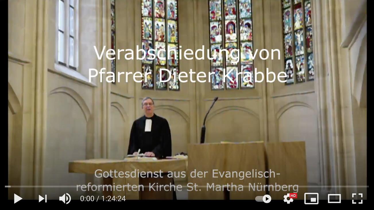 St. Martha: Verabschiedung von Pfarrer Dieter Krabbe