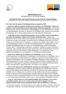 thumbnail of Memorandum 2019 zur Flüchtlingshilfe_final
