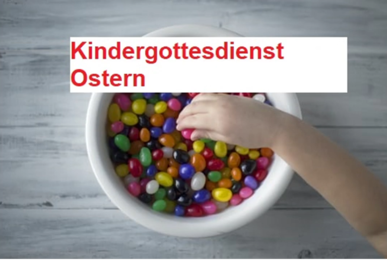 Kindergottesdienst zu Oster