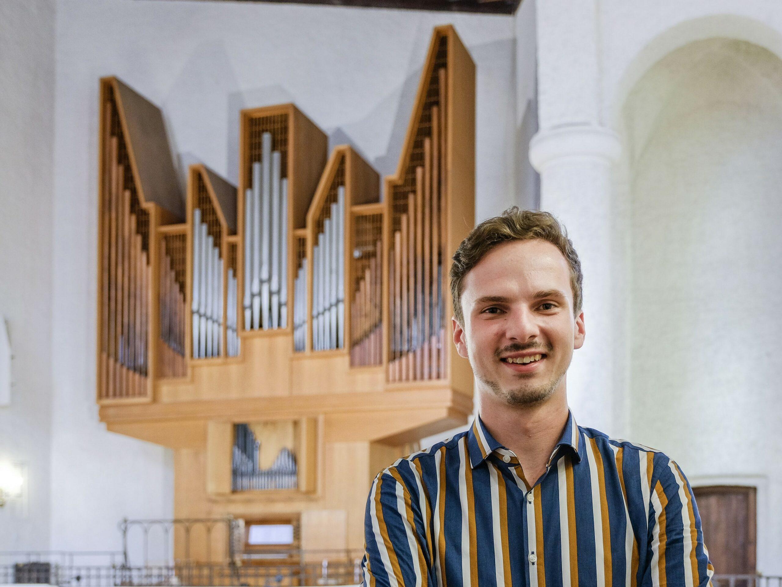 Tobias Orzeszko – unser neuer Bezirkskantor stellt sich vor