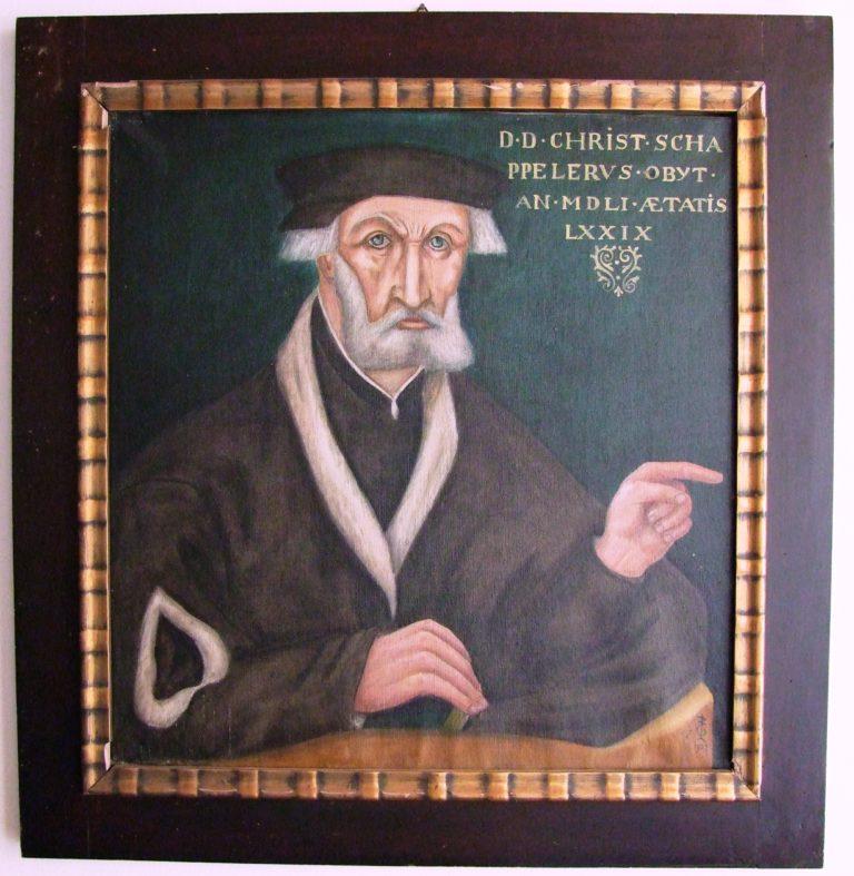 Ausstellung in der Ev.-ref. Kirche Bad Grönenbach: Dr. Christoph Schappeler – ein Verfechter der Reformation