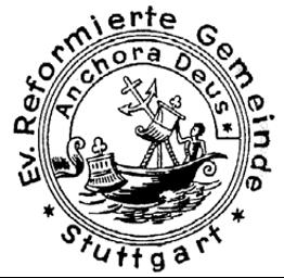 Stuttgart: Ausschreibung der Pfarrstelle