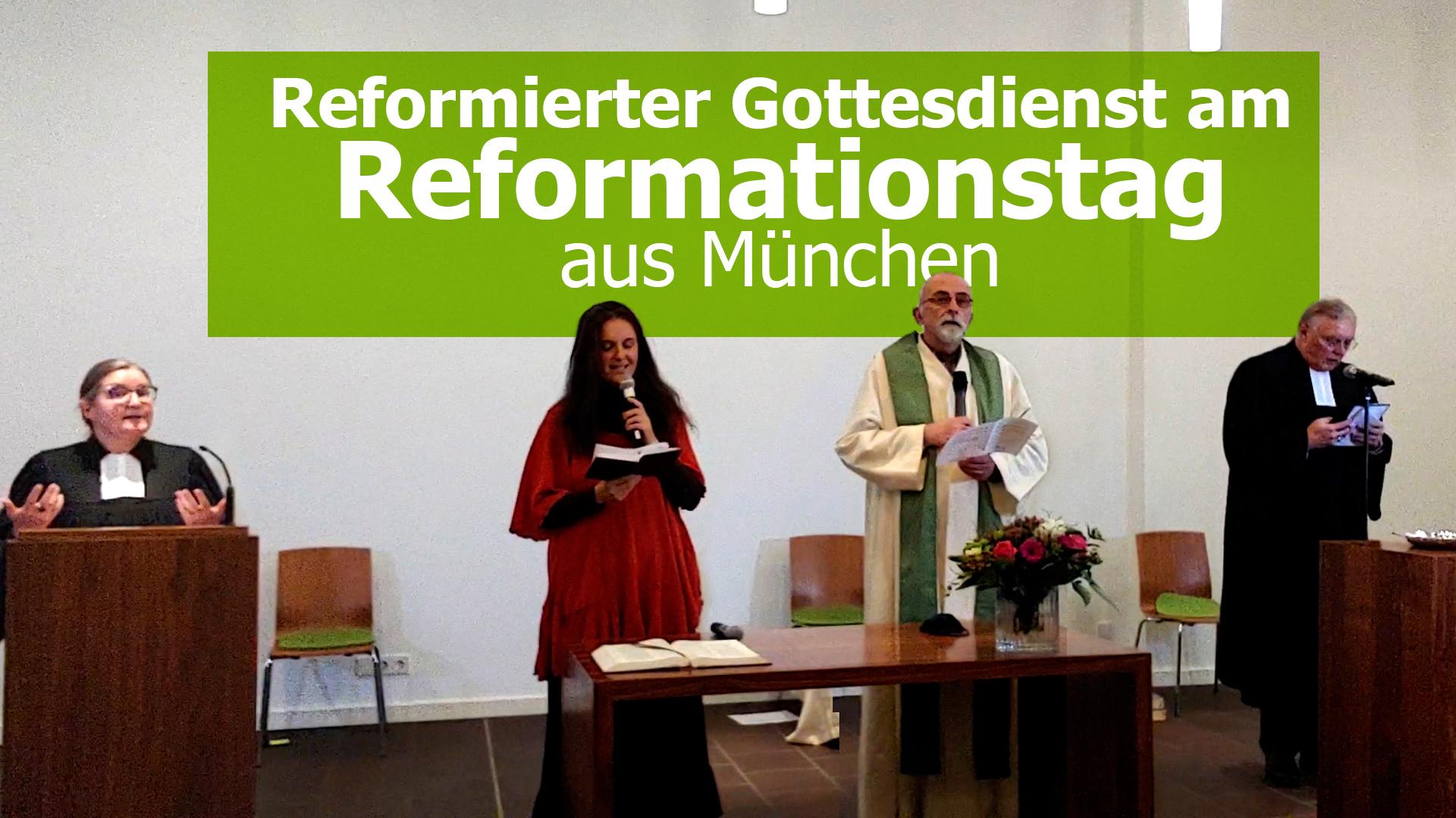 Gottesdienst aus München zum Reformationstag
