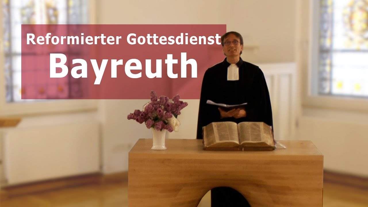 Videogottesdienst aus Bayreuth