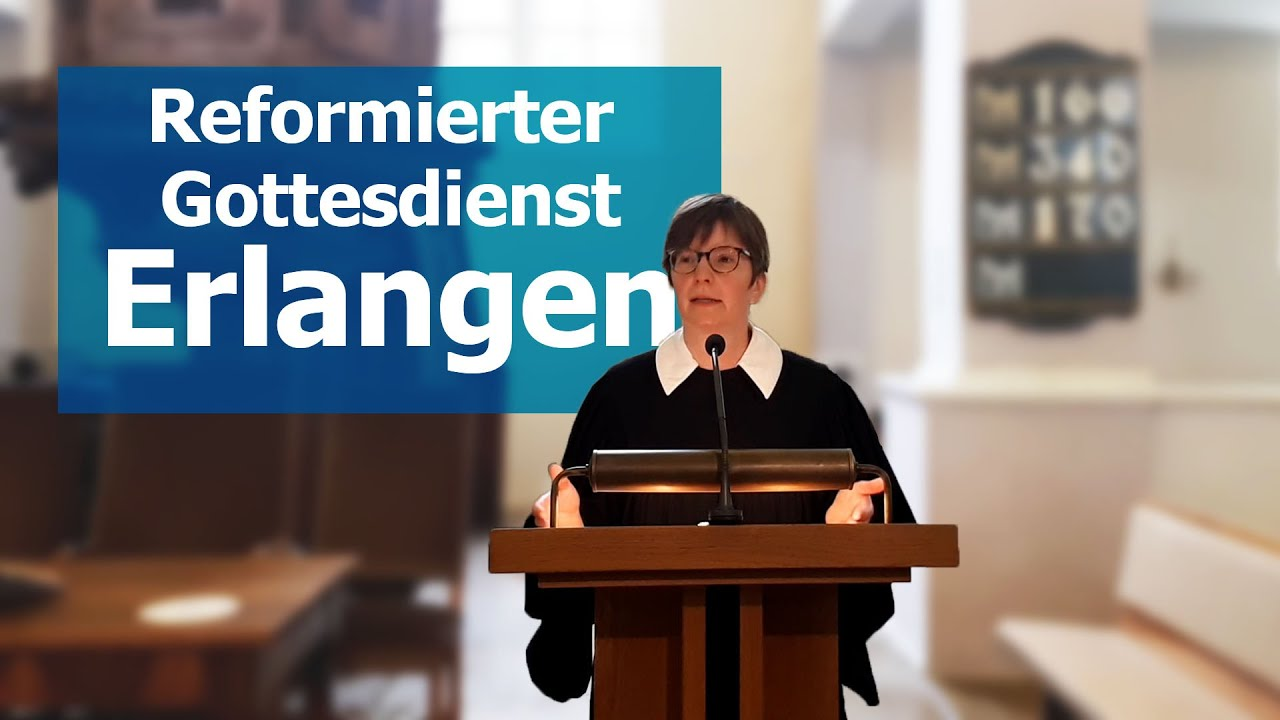 Videogottesdienst aus Erlangen
