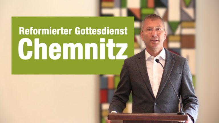 Videogottesdienst aus Chemnitz