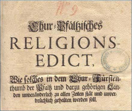 Geschichte der reformierten Gemeinden in Bayern