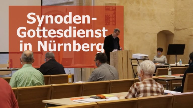 Synodengottesdienst aus Nürnberg
