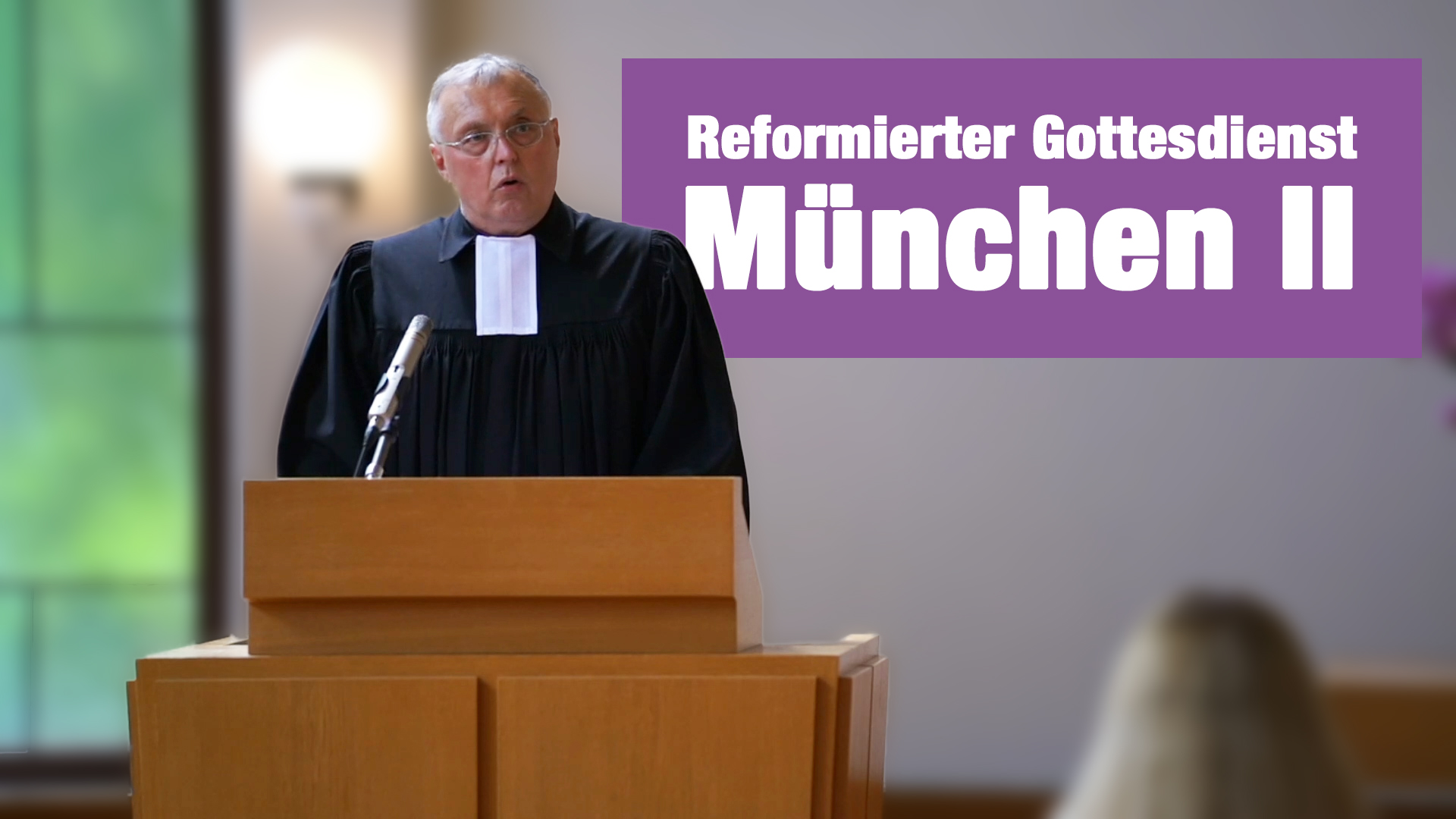 Videogottesdienst aus München II