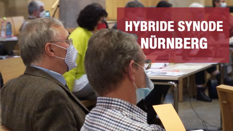 Hybride Synode in Nürnberg