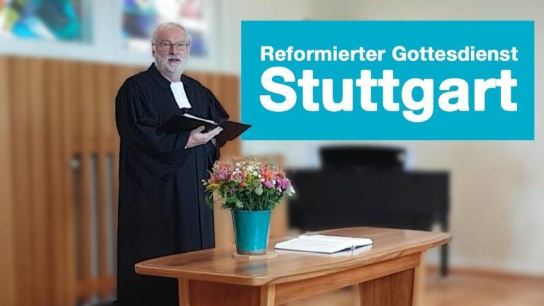 Videogottesdienst aus Stuttgart